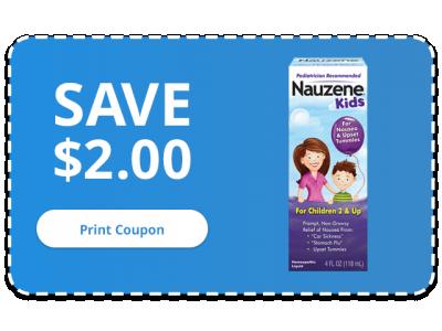 NAUZENE Kids - SAVE $2.00